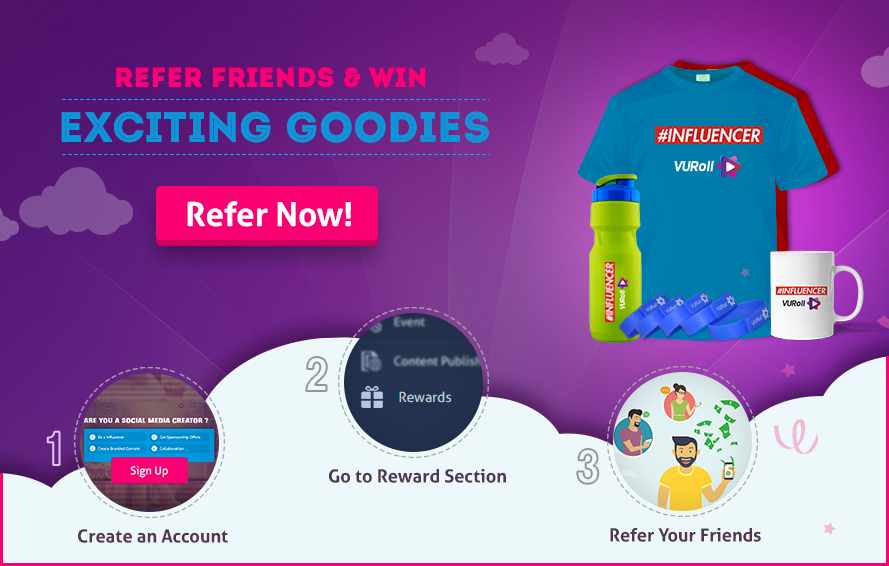 refer and win exciting goodies